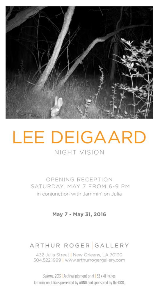 Night Vision at Arthur Roger
